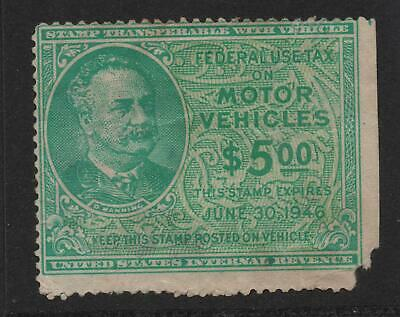 United States Internal Revenue Service Stamp - Federal Use: Tax On Vehicles