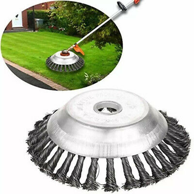 """6"""" Removal Weeding Trimmer Grass Cutter Head Part Replace Steel Wire Rust garden"""