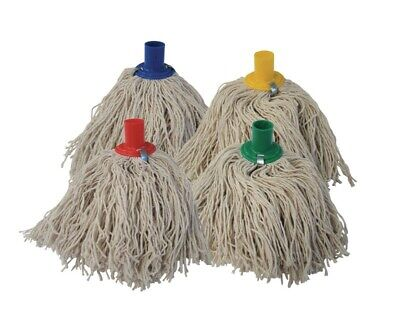 Plastic Socket Cotton Yarn Mop Head Replacement Spare Floor Cleaning Colours