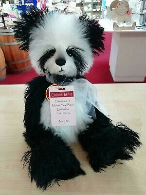 SPECIAL OFFER! Charlie Bears 2016 Isabelle Mohair Year Bear No 570/1000 RRP £150