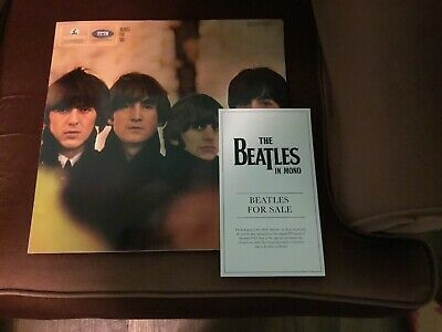 Beatles for Sale [Mono Remastered] by The Beatles (MINT Sep-2014, Parlophone)