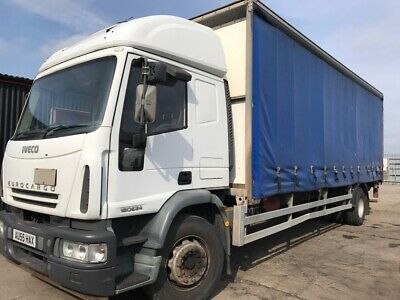 Iveco Eurocargo 180E24 Curtain Sider Manual on Steel Export £2500 + VAT = £3000