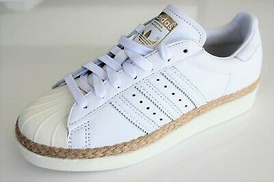 ADIDAS ORIGINALS SUPERSTAR 80s New Bold Gr. 39 13, weiß