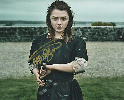 Maisie Williams Game of Thrones signed autographed  8x10 photo M603