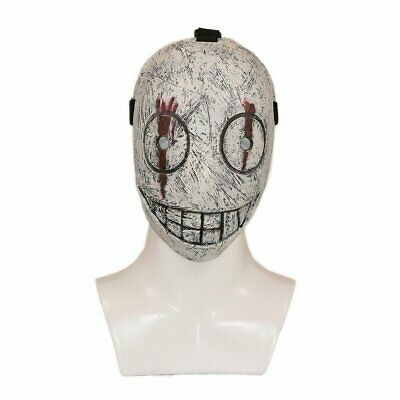 US Halloween Dead By Daylight Legion Frank Cosplay Mask Costume Scary Smile