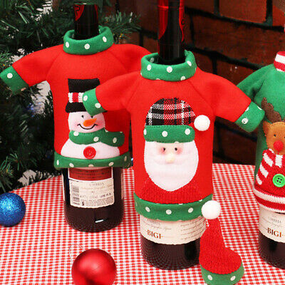 Gifts Dinner Table Unisex Sweater Office Products Bottle Cover Red Wine Bags