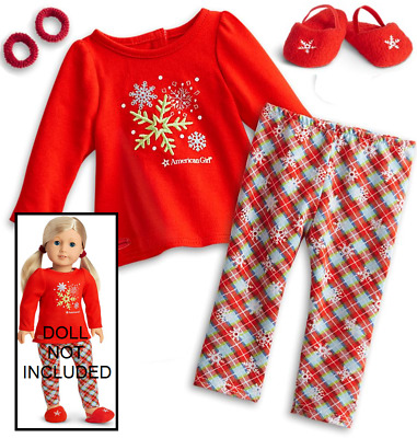"""American Girl Holiday Dreams Pajamas for 18"""" Dolls - Never opened"""
