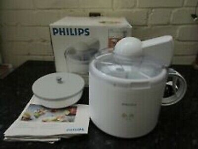 Philips HR2304 Ice Cream Maker With Powerful Cooling System  BOXED COMPLETE 👌