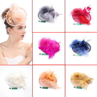 Brand new Large Headband and Clip Hat Fascinator Weddings Ladies Day Royal Ascot