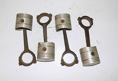Thompson Piston Set & Rods Ford Flathead V8 L-782   STD.