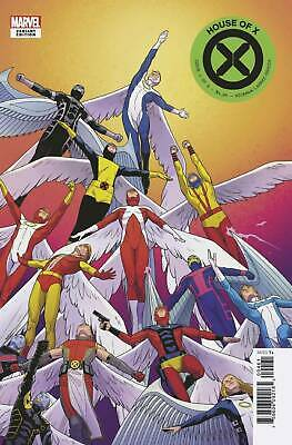 Marvel 2019 House of X #4 Character Decades Variant Cover NM Unread 1st Print