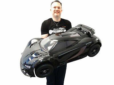 NEW Rovan 1/5 Scale 360 F5 36cc Gas RTR 4WD On-Road Car RTR MCD Compatible Black