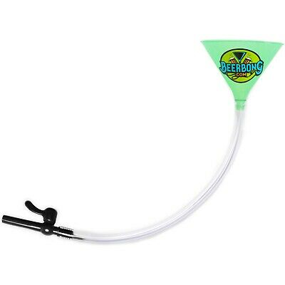 Large Double Beer Bong Funnel with ValveShotgun Key ChainGreen Funnel