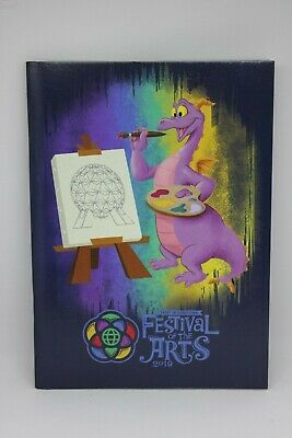 Disney Parks 2019 Epcot Festival Of The Arts Figment Coloring & Sticker Book NEW