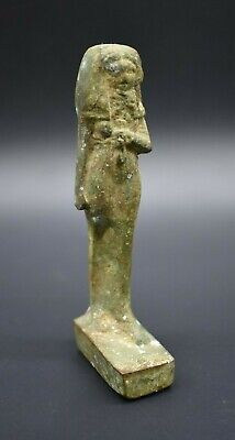 Ancient Egyptian Ptolemaic period bronze house God C. 305 - 30 BC