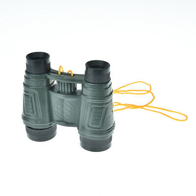 1pc plastic kid children magnification toy binocular telescope neck tie  ` J7