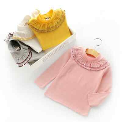 Girls T-shirt Cotton Top Children Long sleeve Tops Age Size 2 3 4 5 6 Years