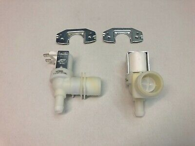 2 x Hoover Washing Machine Hot or Cold Water Inlet Valve 208M 208M0AUS 208MOAUS
