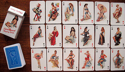 """№133! Playing cards """"Sweetheart"""". The pinup, pin-up"""