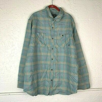 classic high quality new york NIKE SB PLAID Shirt Men Plus Size 2X Green Flannel Long ...