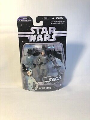 Star Wars Saga Collection Empire Strikes Back General Veers Figure 007 2006 New