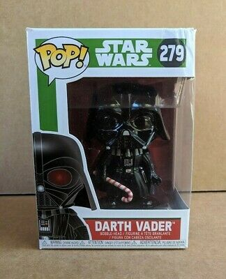 Funko Pop Star Wars Darth Vader with Candy Cane Non Chase Non Glow in the Dark
