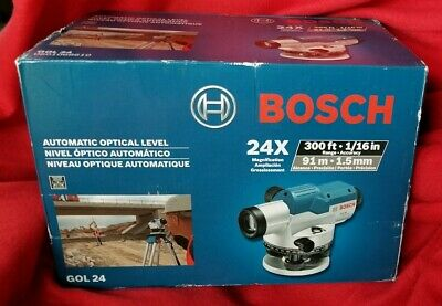 New Bosch Gol 24  24X Magnification Automatic Optical Level