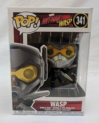 Funko Pop Wasp Marvel Ant-Man and The Wasp Vinyl Figure #341 Non Chase - New