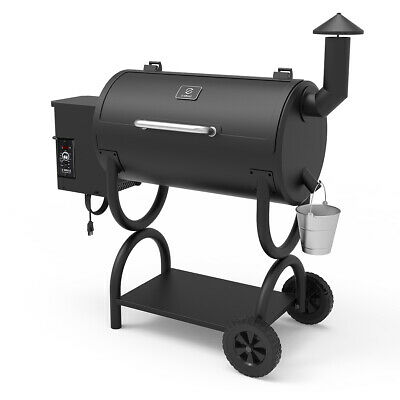 WOOD PELLET GRILL Pizza and Searing Station Flame Broil on