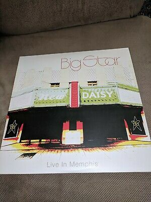 Big Star Live In Memphis Red Colored Vinyl Record 2xLP /1000