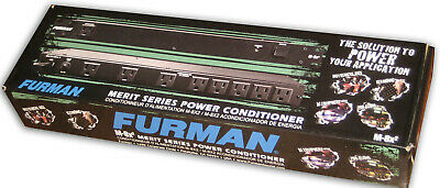 Furman M-8X2 Merit Series 8 Outlet Power Conditioner and Surge Protector New