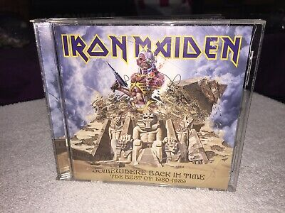 CASE ONLY NO CD 2008 Iron Maiden Somewhere Back in Time ( The Best of 1980-1989)