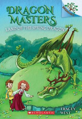 The Land of the Spring Dragon Book Dragon Masters #14 by Tracey West Paperback
