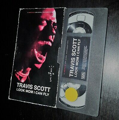 Travis Scott ''Look Mom I Can Fly'' Vhs 2019 (Replica) Limited Edition