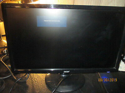 """Acer S201HL Black 20"""" Widescreen LED Backlight LCD Monitor 1600x900 Free Ship"""