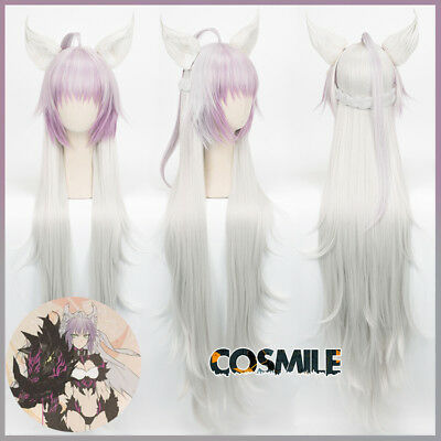 FGO Fate Grand Order Atalanta Archer Cosplay Ear + Wig Hair Majin Devil Ver