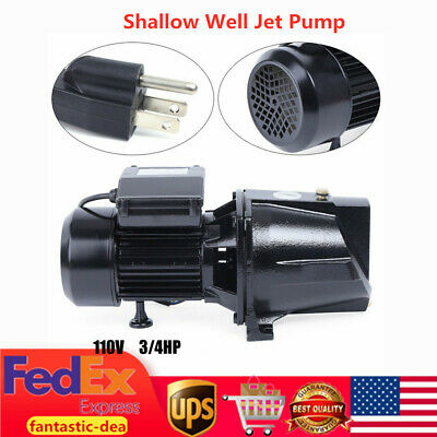 3//4 HP Shallow Well Jet Pump w// Pressure Switch 1 Inch 3//4 HP w// Pressure Switch