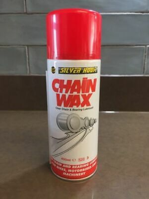 Silverhook CHAIN WAX / CHAIN LUBE Bikes, Motorbikes & Machinery Aerosol - 400ml