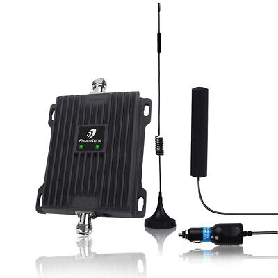 850/1700MHz Cell Phone Signal Booster 2G 3G 4G LTE Repeater for Car Use Band 5/4