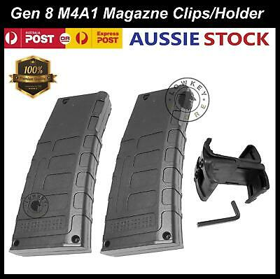 Gen 8 M4A1 Magazine Clip Double Mag Holder Gel Ball Blaster Replacement Parts