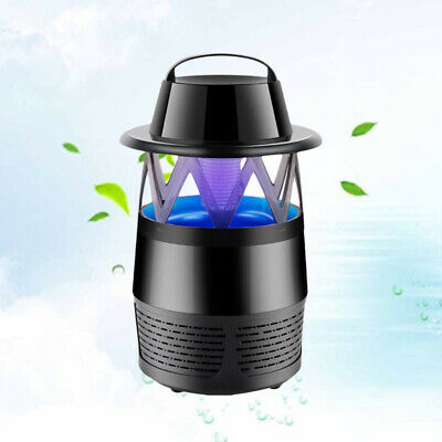 Luz LED UV Mosquito Lamp Mosquito Insectos Asesino Trampa Lámpara  Catcher USB
