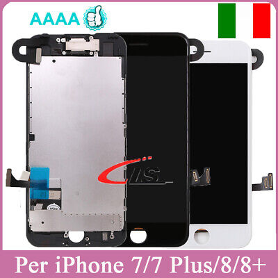 Display Lcd Per Iphone 7+7Plus 8 8 Plus Touch Screen Schermo Completo+Telecamera