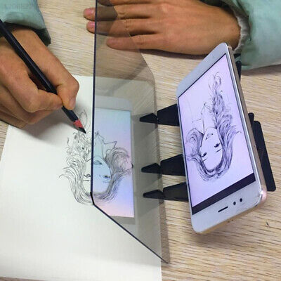 Stereoscopic Imitate Copy Station Optical Drawing Projection Tracing Board Pc