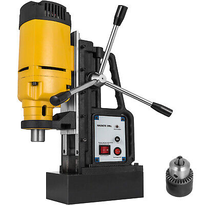 1.2KW MB-23 Magnetic Base Drill Press 23mm Boring 13500N Magnet Force Tapping