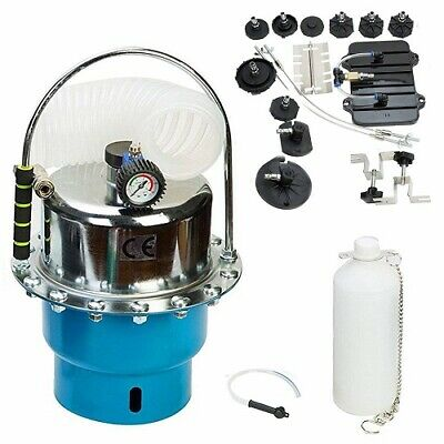 Portable Pneumatic Air Pressure Kit Brake and Clutch Bleeder System Kit CA STOCK