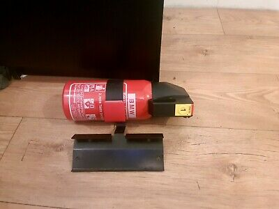 Bmw E36 Fire Extinguisher And Metal Seat Bracket