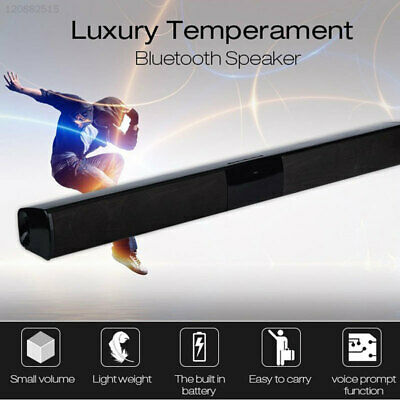 6472 4*Trumpet Soundbar Bluetooth Speaker Home Theater Music Player Support TF