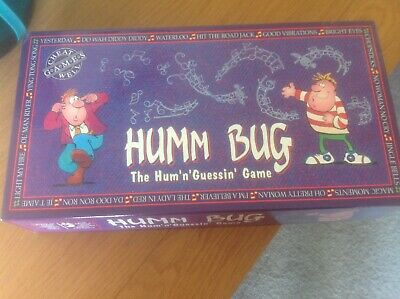 Humm Bug. By Cheatwell Games. Early 1990s.  We have loved playing this game.