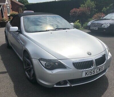 BMW 645 Convertible 54 plate Petrol