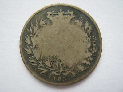 1834 silver Sixpence Fair/poor